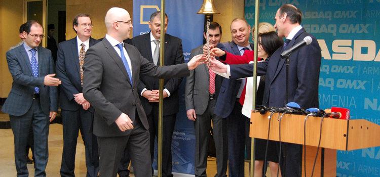 Nasdaq OMX Armenia Announces the Listing of the First UCO Securitized Bonds in Armenia