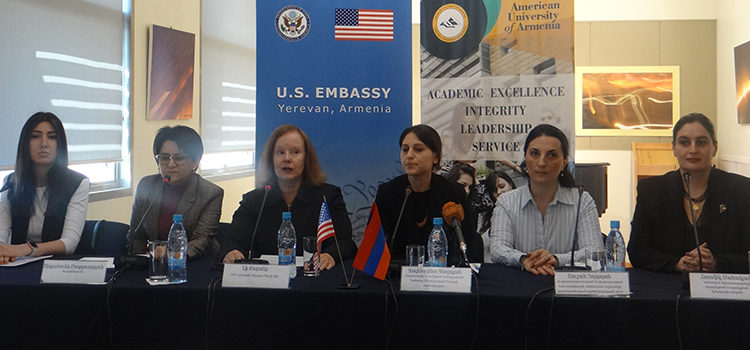 U.S. Embassy's Fourth Annual Women's Mentoring Program Launched in AUA