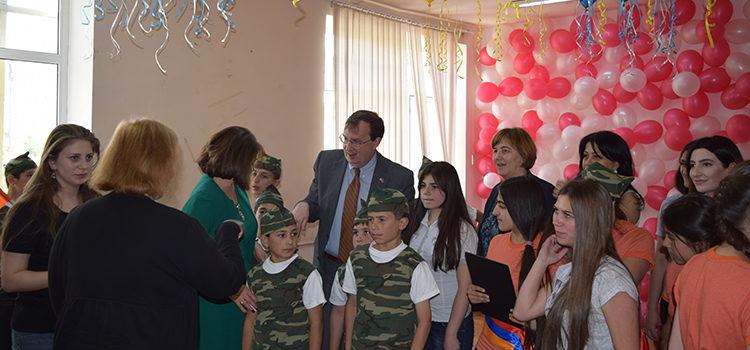 U.S. Ambassador Mills Visits Orphanage to Examine Child Welfare Reform