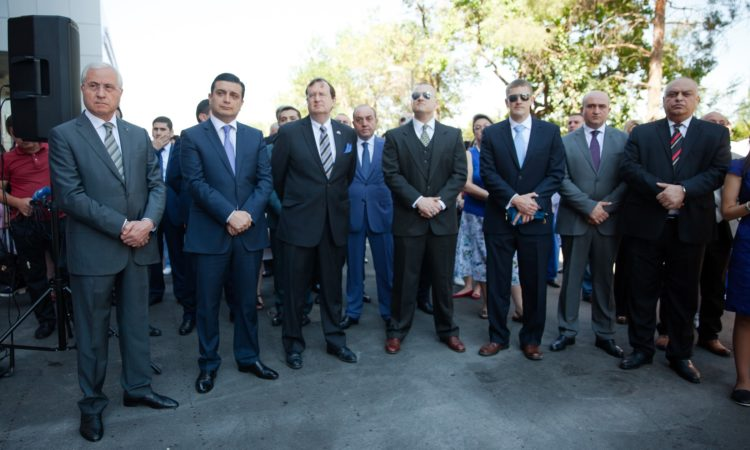 By Opening New Central Facility in Yerevan, U.S. Embassy Works with Armenian government to Protect Nation from Disease