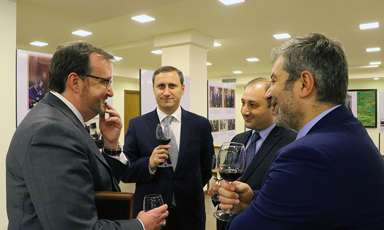 25th Anniversary Photo Exhibit with Armenian MFA