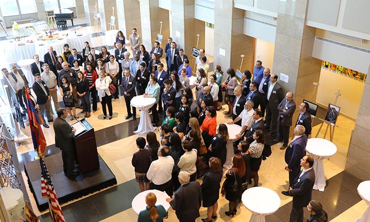 U.S. Ambassador meets with Muskie Exchange Program alumni