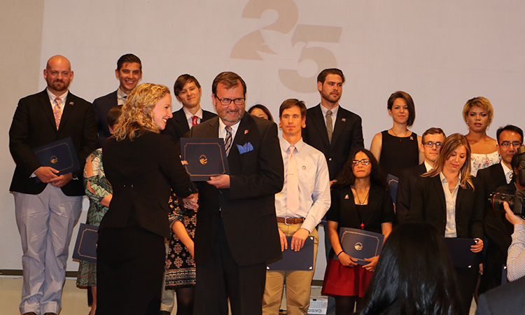 Peace Corps Celebrates the Swearing-In of 42 New Volunteers and the Program's 25th Anniversary in Armenia