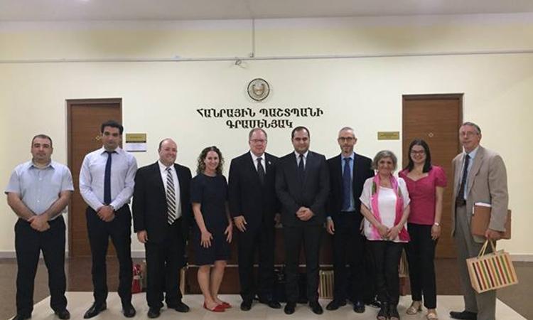 SPD and INL Assisting Armenia Public Defenders