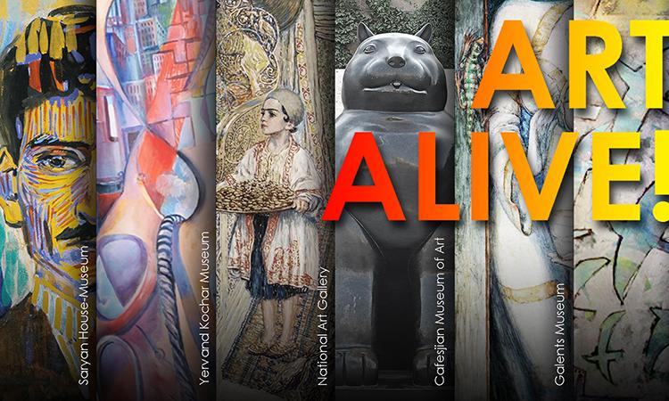 U.S. Embassy helps alumni bring Art Alive!