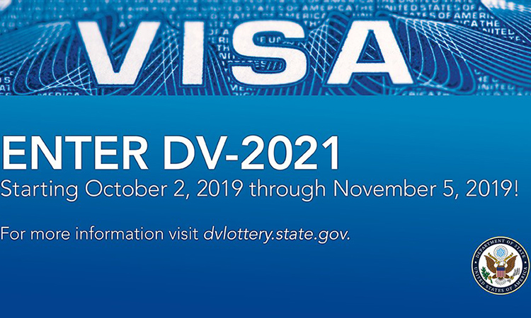 "U.S. Department of State Announces Opening of the Registration Period for 2021 Diversity Visa ""Green Card"" Lottery"