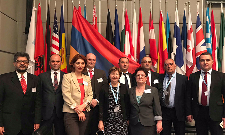Armenian Delegation attends OSCE 18th Counter-Trafficking-in-Persons Alliance Conference