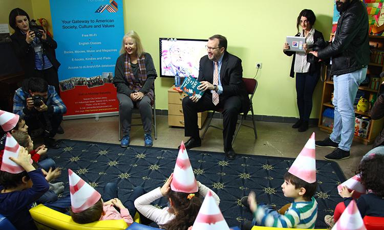 U.S. Ambassador Mills unveils plans to expand Yerevan American Corner