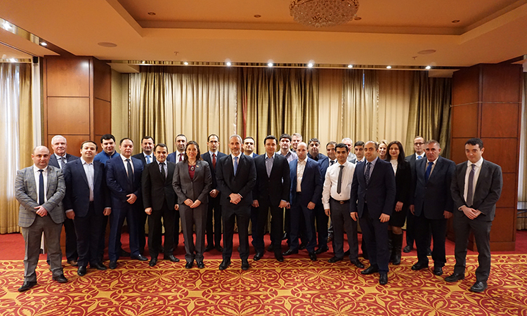 INL Supports Trainings in Armenia