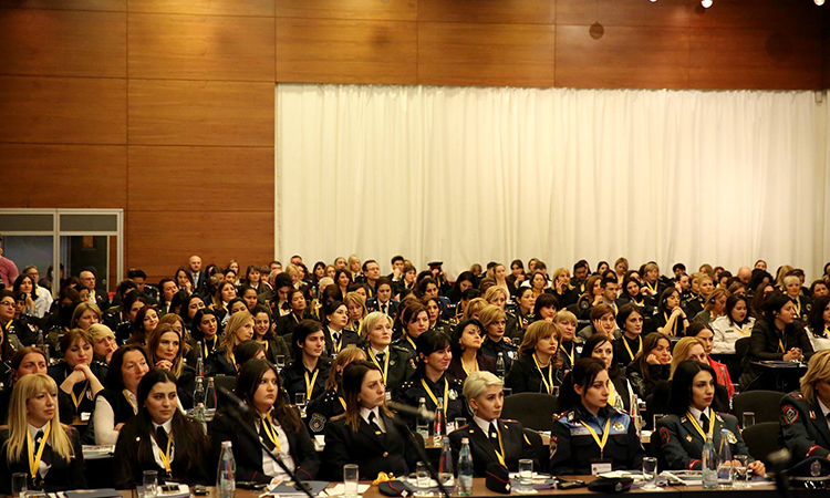 Promoting Women's Role in Law Enforcement