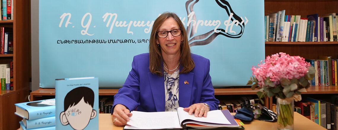 American Corners in Armenia celebrate National Library Week with Reading Marathon