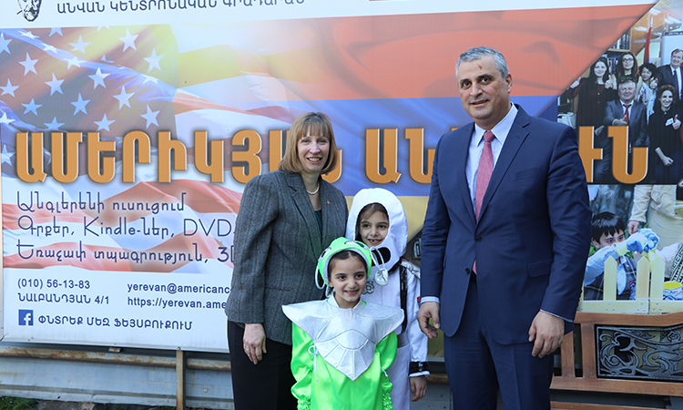 American Corners in Armenia celebrate National Library Week with Reading Marathon