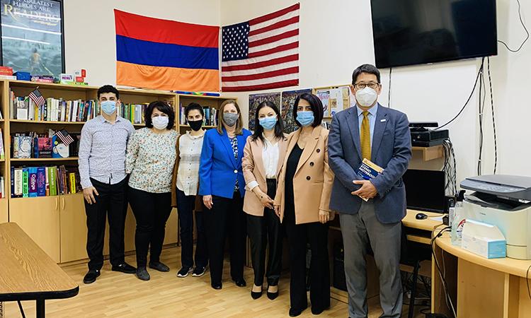ԱՄՆ դեսպանը Սյունիքի մարզ այցի ընթացքում ընդգծել է հայ-ամերիկյան գործընկերության կարևորությունը