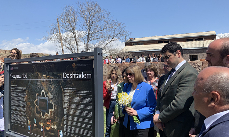 U.S.-Funded Dashtadem Cultural Preservation Project Complete