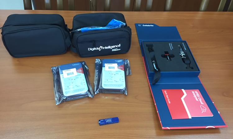 U.S. Embassy donates evidence examination tools to National Bureau of Expertises