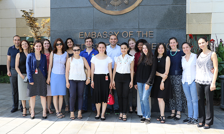Building bridges between two nations, U.S. Embassy bring U.S. students to Armenia for internships