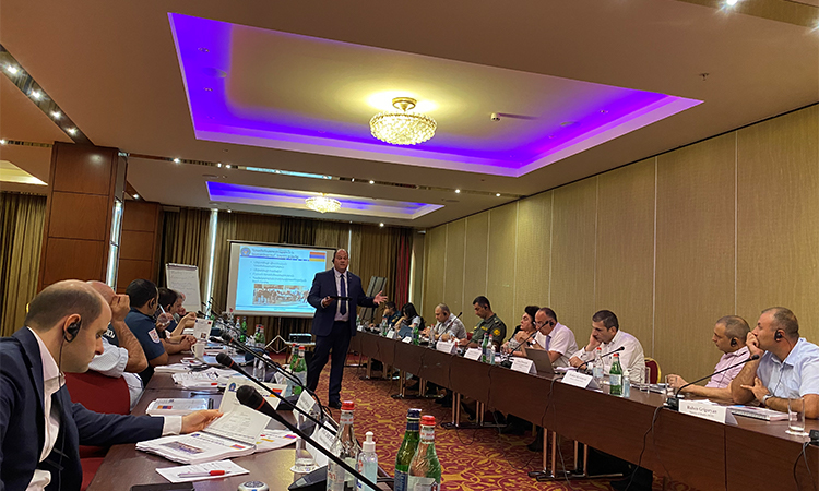 Executive Seminar on Counter Weapons of Mass Destruction in Armenia