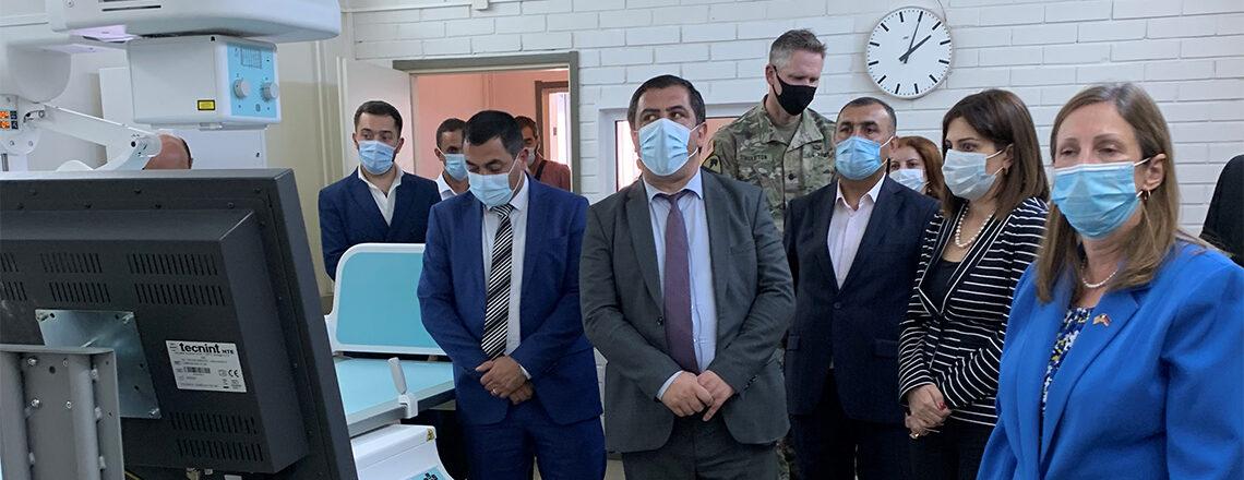 U.S. Ambassador visits Spitak Medical Center to participate in the donation ceremony