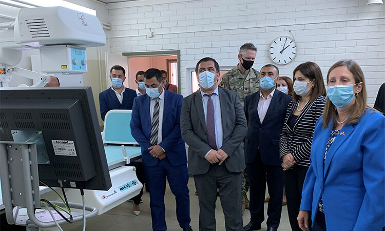U.S. Ambassador visits Spitak Medical Center to participate in the donation ceremony of medical equipment