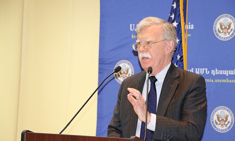 National Security Advisor John Bolton Press Conference