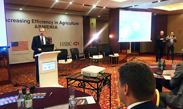 U.S. Embassy and U.S. Foreign Commercial Service Team Up to Support the Agriculture Sector in Armenia