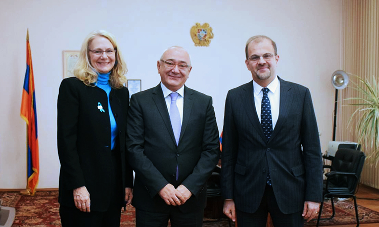 U.S. Embassy Officials Discuss Elections Assistance with Armenia's Central Electoral Commission