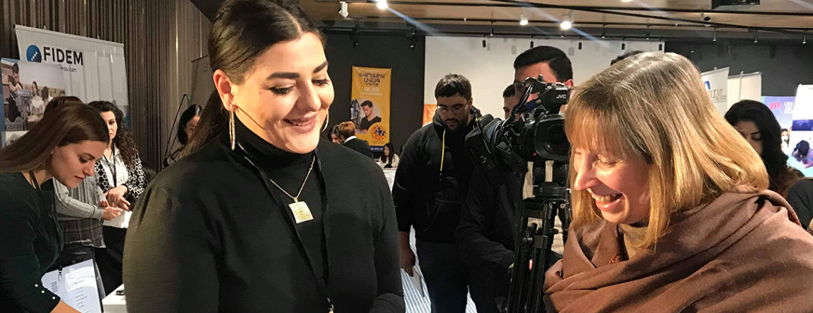 U.S. Embassy supports Third Annual Career and Entrepreneurship Fair in Yerevan