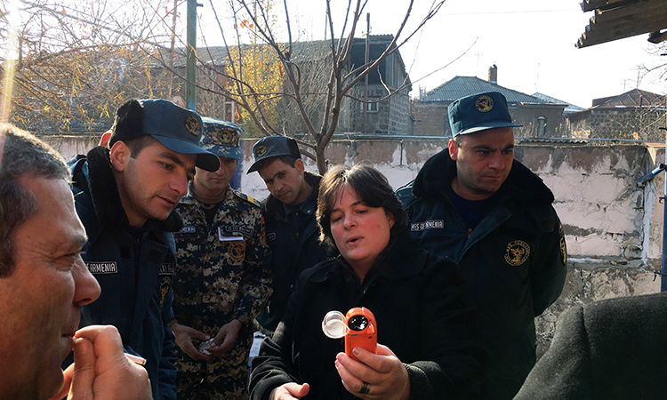 U.S. Expert Providing Post-Forest Fire Support to Armenia