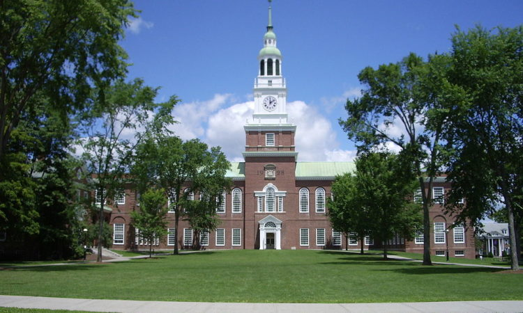 Dartmouth College campus, Baker Memorial Library