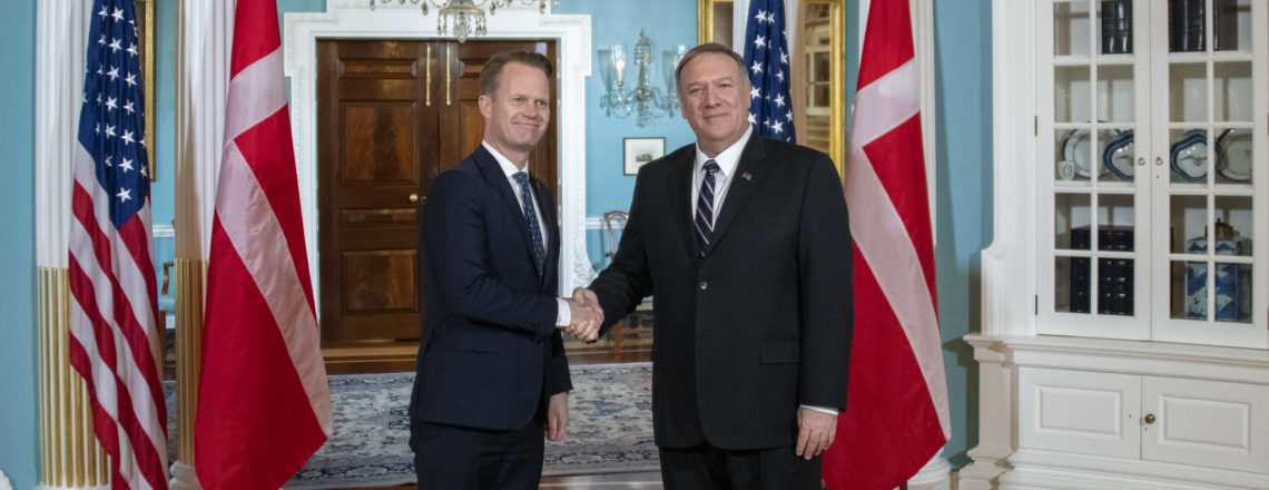 Secretary Pompeo's Meeting with Minister of Foreign Affairs of Denmark Jeppe Kofod