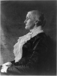 Susan B. Anthony. Photo: Library of Congress