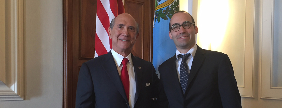 U.S. Ambassador Eisenberg Met San Marino Secretary of State for Foreign Affairs