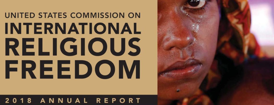 2018 Rapporto internazionale sulla libertà religiosa