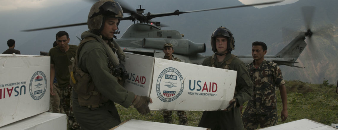 کمکهای خارجی مضاعف آمریکا بر پایه رهبری ایالات متحده در واکنش جهانی کووید-۱۹ شکل می گیرد