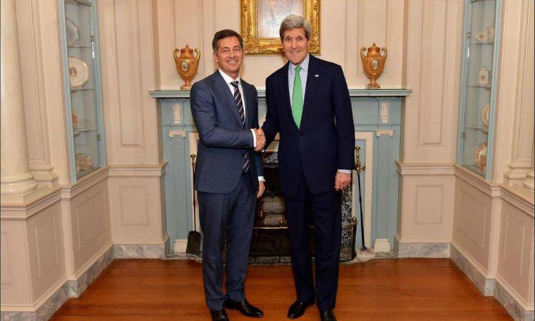 John Kerry and Randy Berry