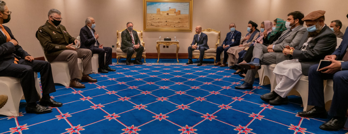 The United States Welcomes Major Milestone in Afghanistan Peace Negotiations
