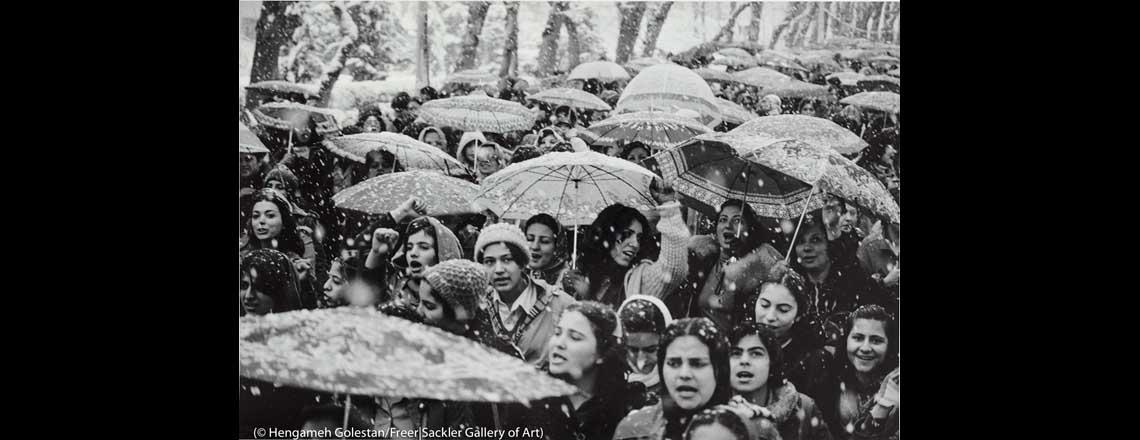 قدرت زنان ایران در نمایشگاه اسمیتسونیان واشنگتن به نمایش گذاشته شد