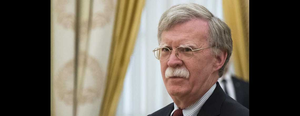 Statement from the National Security Advisor Ambassador John Bolton