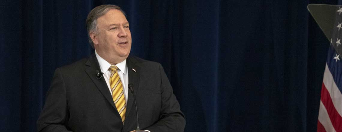 Statement by Secretary Pompeo – First Anniversary of President Trump's New Iran Strategy